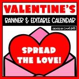Editable Valentine's Day Bulletin Board