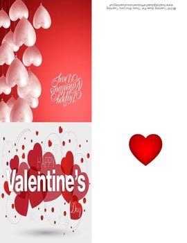 Editable Valentine's Day Cards