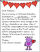 Editable Valentine's Day Party Letter to Families / Parent