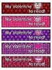 {Editable} Valentine's Day Bookmark FREEBIE!