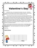 ~Editable! Valentine's day letter for parents