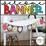 Vintage Editable Welcome Banners