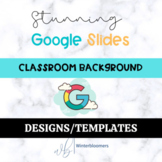 Editable Virtual Classroom Designs/Templates for Google Slides