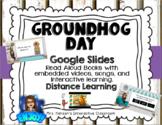 Editable Virtual Groundhog Day Google Slides Distance Learning