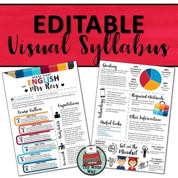 Editable Visual Syllabus Template