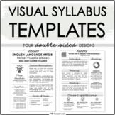 Visual Syllabus Template Pack #2 - Creative & Editable Course Syllabus