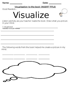 Editable Visualization Organizer