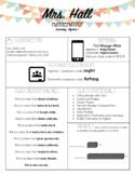 Editable Visually Appealing Syllabus