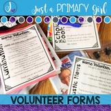 Editable Volunteer Forms