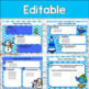 Editable WINTER Themed Morning Work PowerPoint Templates