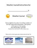 Editable Weather Journal