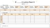 Editable Week AAG Google Doc Lesson Plan Template