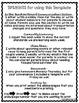 Editable Weekly Homework News Behavior Template Newsletter Chart