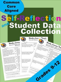 Editable Weekly Learning Targets, Self-Reflection, and Student Data Collection