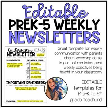 Editable Weekly Newsletter Template