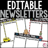 Class Newsletters-Editable