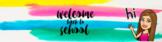 Editable Welcome Back to School Bitmoji Google Classroom Header