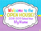 Editable Welcome Back to School Night/Open House/Meet The Teacher PowerPoint
