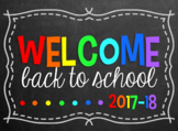 Editable Welcome Back to School - Open House PowerPoint Sl
