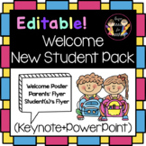 Editable Welcome New Student Pack (Keynote+PowerPoint)