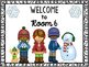 Editable Welcome Sign (December/January/February)