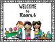 Editable Welcome Sign (March/April/May)