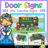 Editable Classroom Welcome Signs (30+ designs)