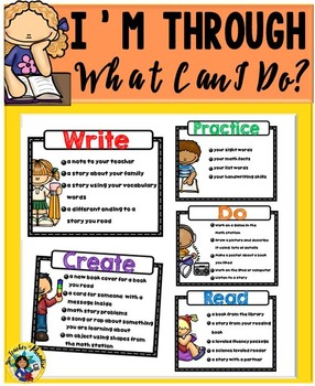 What Can I Do When I'm Through?  Editable Charts