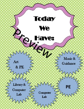 Editable What we have today specials sign