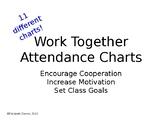 Editable Whole Class Cooperative Bible Class Attendance Chart