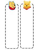 Editable Winnie the Pooh Tags/Bookmarks