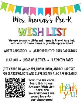 Editable Wish List