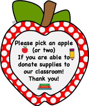 Editable Wish List Apples