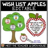 Editable Wish List Apples