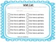 Editable Wish Lists and Thank You notes (Bumpy Frames)