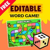 Editable Word Game
