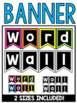 #especiallyeducation Editable Word Wall