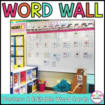 Editable Word Wall