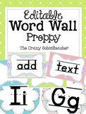 Editable Word Wall {PASTEL}