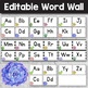 Editable Word Wall  - Word Wall Letters - Succulent Classroom Decor