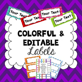 Editable Word Wall Words PDF