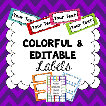 Editable Word Wall Words PDF