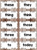 Editable Word Wall in a Camping Classroom Decor Theme