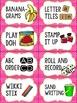 Editable Word Work Labels: Pink Polka Dot