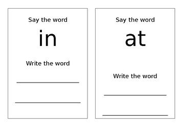 Editable Write n Wipe Sight Word Mats - Template only