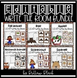 Editable Write the Room Bundle
