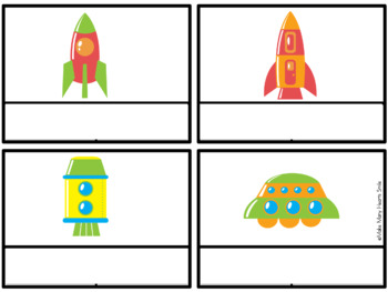 Editable Write the Room: Spaceships