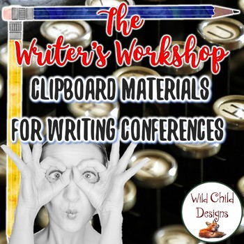 Editable Writing Conference Materials