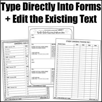 Editable Writing Forms {Loving Writing-Unit 1-5th Grade}