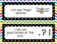 Editable Writing Goals Clip Chart for Kindergarten, First, and Second Grade